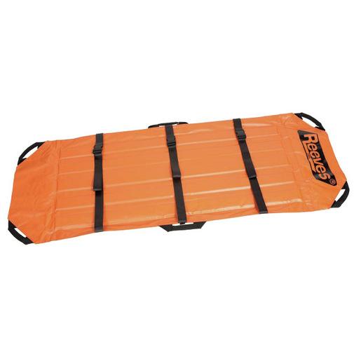 Reeves Stretcher w/ Metal Buckles, 79in x 38in, Orange