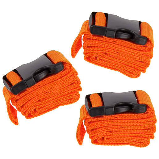 Curaplex® Strap Set, 2-piece, 5ft, Orange