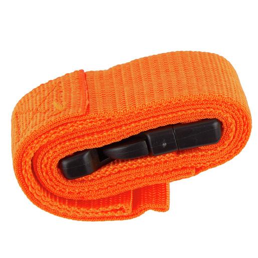 Curaplex® Restraint Strap with Loop End, 5ft L, Orange