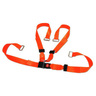 BioThane® G1 Shoulder Harness Restraint System, Orange