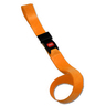 1-piece BioThane® G1 Extension Strap with Metal Push Button Buckle, 4ft L x 2in W, Orange