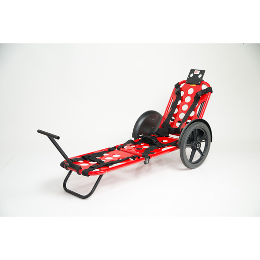 RexOne Mobile Stretcher, All Terrain Tires, 20in, Red