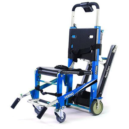 EZ-Glide® Evacuation Stair Chair, w/ Tracks, Blue