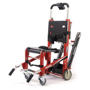 EZ-Glide® Stair Chair, Rescue Red, with Powertraxx®