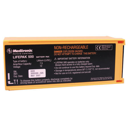 Non-Rechargeable Lithium Sulfur-dioxide Battery, 12V