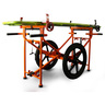 EL2000 Civilian Wheeled Litter Carrier, 500lb, Orange