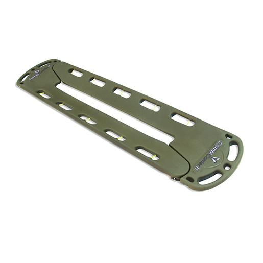 CombiCarrierII® Backboard/Split Litter w/ Four 2-Piece Speed Clip Straps, Olive Drab Green