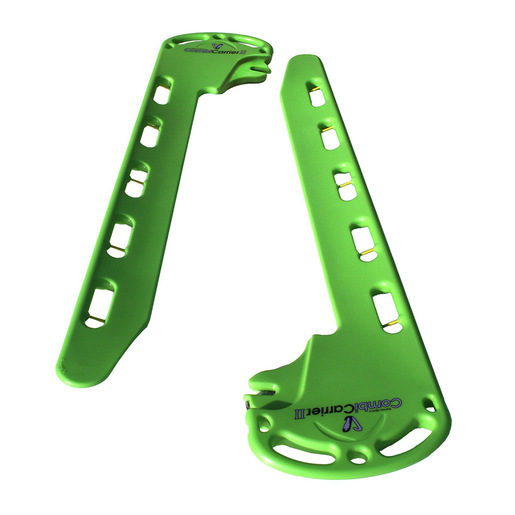 CombiCarrierII® Backboard/Split Litter with Four 2-Piece Speed Clip Straps, Green
