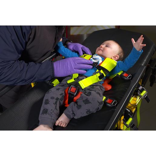 Emergency Child Restraints, Includes S, M, L Cot Straps