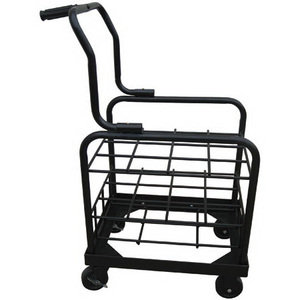 Cylinder Cart With Wheels, Holds 12 E or D Cylinders