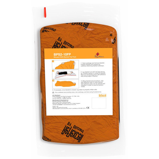 Blizzard EMS Blanket, Orange