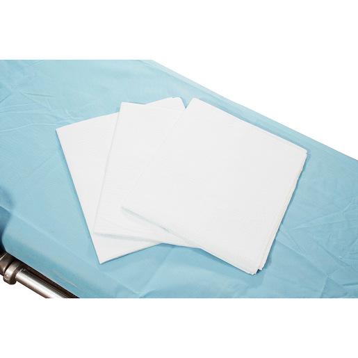 Curaplex® Bed Sheet, 40in x 90in, Tissue/Poly