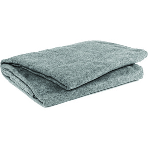 Blanket, Polyester, 66in x 90in, Gray