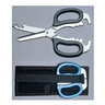 Multi-Purpose Rescue Shears Set with Holster, 8-3/4in x 3-3/4in x 1/2in, Blue