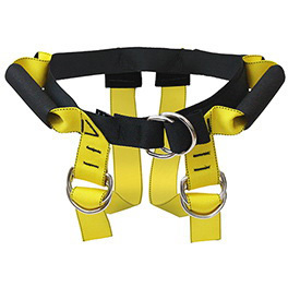 Lift Assist Harness, Up to 45in Circumference, Regular, Yellow