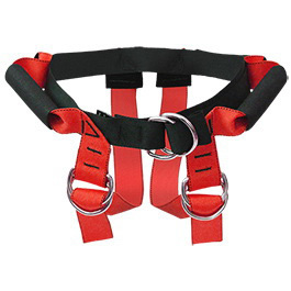 Lift Assist Harness, Up to 80in Circumference, Large, Red