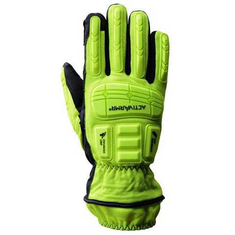 *Discontinued* ActivArmr® 46-551 Rescue Extrication Gloves, Yellow/Black, XS