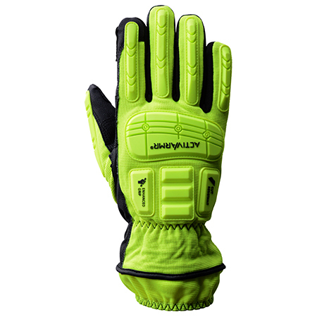 *Discontinued* ActivArmr® 46-551 Rescue Extrication Gloves, Yellow/Black, Large
