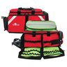 Ultra Breathsaver Oxygen and Trauma Bag, Red, Universal Protection Material