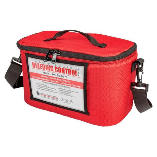 Public Access Bleeding Control, 5/PK, Vacuum Sealed Kit, Intermediate