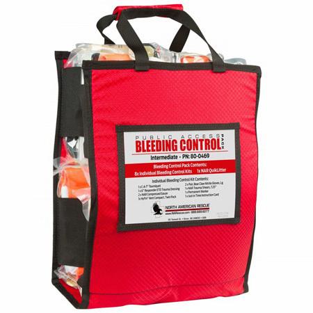 Public Access Bleeding Control Pack, Intermediate, Vacuum Sealed
