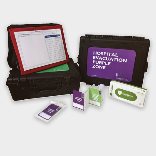 SMART Evacuation Point Module, Pair, One Green and One Purple