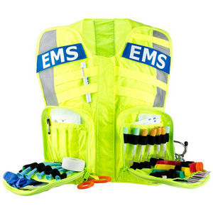 Fluorescent G3 Advanced Safety Vest with EMS Name Plate