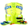 G3 Advanced Safety Vest, Fluorescent w/EMS Name Plate, Yellow