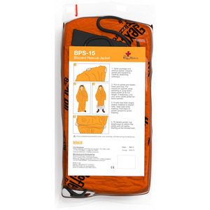 Blizzard Rescue Jacket, Orange