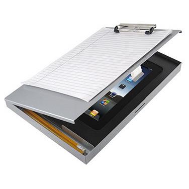 *Limited Quantity* Aluminum Tuff Writer w/Foam Pad, Letter/A4 Size