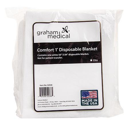Comfort1® Blanket, White