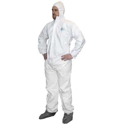 *Limited Quantity* ProWorks® Breathable Liquid & Particulate Coverall, XL