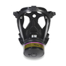 Tactical Gas Mask, Large, Face Piece Material Silicone, Suspension Mesh Harness
