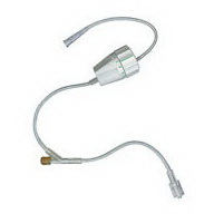 Rate Flow® Regulator Extension Set with 1 Non-needle-free Injection Site, 18in L