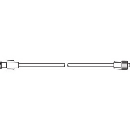 Standard Bore Extension Set, 21in L, with Male Luer Lock