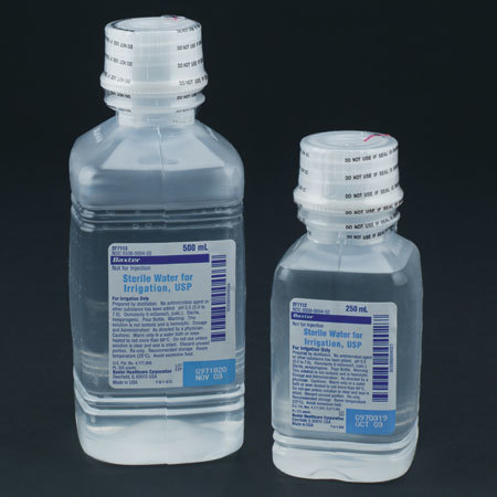 Sterile Water for Irrigation