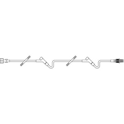 Standard Bore IV Extension Set, 6.1mL, 43in L
