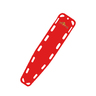 Base Board, Red, Non-Standard Color, Without Pins