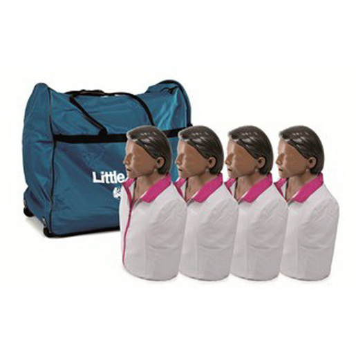 *Discontinued* CPR Little Anne® Training Manikins, 4-Pack, Brown Skin