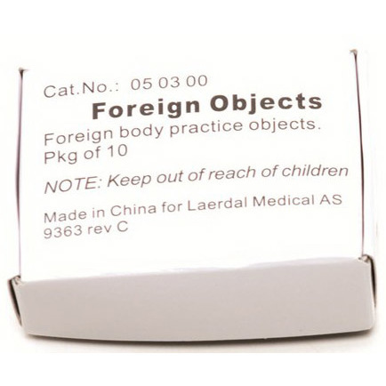 Baby Anne® Foreign Objects