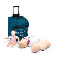 *Discontinued* CPR Little Anne® Training Manikins, Little Family Pack, Light Skin