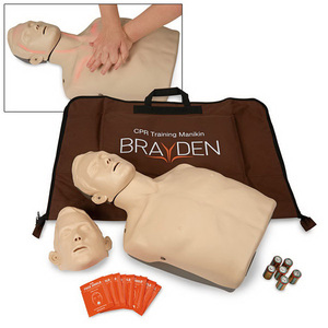 Brayden CPR Training Manikin with Red Indicator Lights, Adult