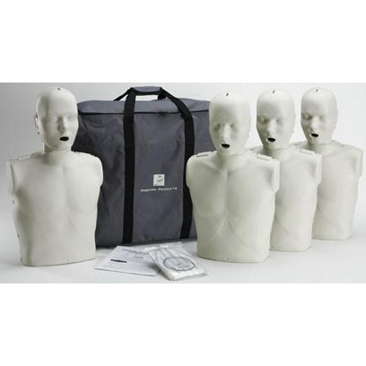 *Limited Quantity* Professional CPR-AED Training Manikin w/CPR Rate Monitor, 4 Adults
