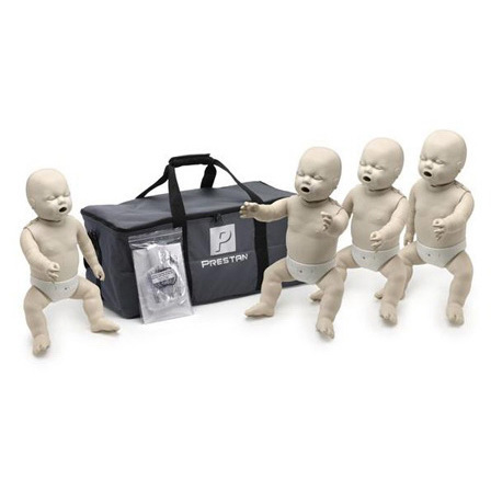 *Discontinued* Professional CPR-AED Training Manikin w/CPR Rate Monitor, 4 Infants