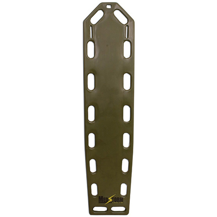 *Limited Quantity* Trauma Backboard, Olive Drab, 72in x 16in x 1.75in