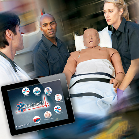 Smart Stat Basic Adult Training Manikin, Hard Carry Case