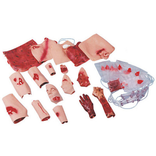 Trauma Moulage Kit, Dark Skin
