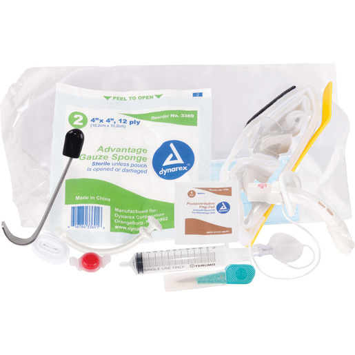 Curaplex® Field Cricothyrotomy Kit with Shiley Trach Tube