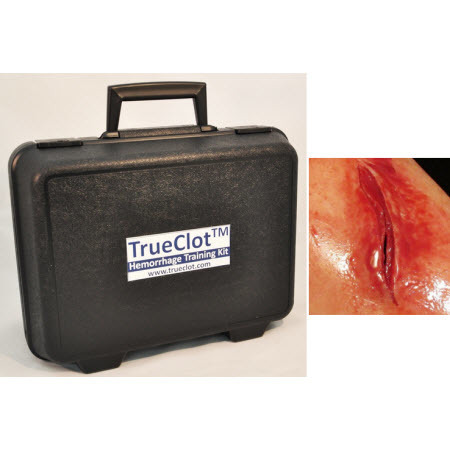 TrueClot® Wound Packing Task Trainer Kit, Knife/Laceration Wound