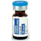 *Pack/Case Quantity* Thiamine, 100mg/ml, 2ml Vial